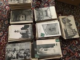 Lot De +1000 CPA France - Chateaux, Eglises, Monuments, Paris ... (+200 CPA Italie En Prime) - 500 Postcards Min.
