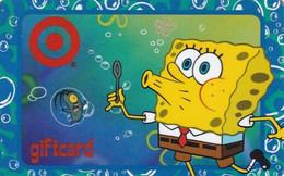 CANADA - Bob The Sponge, Target Gift Card, Unused - Comics