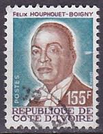 Timbre Oblitéré N° 755(Yvert) Côte D'Ivoire 1986 - Félix Houphouet-Boigny - Costa D'Avorio (1960-...)