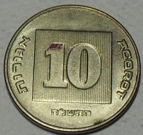 ISRAEL -  10 Agorot 1998 - Israele