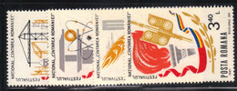 Roumanie 1981 Yvert 3333/36 Neufs** MNH (ac42) - Unused Stamps