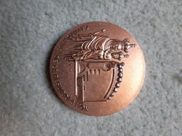 Médaille, Cathédrale D'Evry, Avec Sa Boîte - Altri