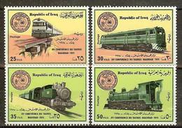 IRAK N°764/767** - Cote 45.00 € - Iraq