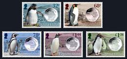 Falkland Islands 2020 Fauna Birds Penguins Coins 5v MNH - Islas Malvinas