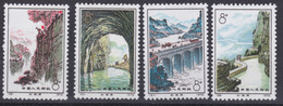 """CHINA 1972, """"The Red Flag Canal"""", Serie Unmounted Mint, Superb Condition On Back- And Frontside Of The Stamps - Neufs"""