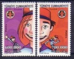 2004 TURKEY SCOUTING MNH ** - 1921-... République