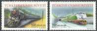 2002 TURKEY VEHICLES - TRAINS LOCOMOTIVES MNH ** - 1921-... République