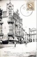 ESPANA - MALLORCA - VISTA ANIMADA DEL GRAND HOTEL Y TEATRO PRINCIPAL - Mallorca