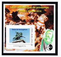 VaI119 CNEP Y.T N°65 CLERMONT-FERRAND Salon Philatélique PRINTEMPS 2014 Par Cyril De La PATELIERE C.N.E.P N** MNH - CNEP