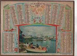 ALMANACH DES P.T.T 1969  - SAINT GUENOLE SUD FINISTERE - Calendari