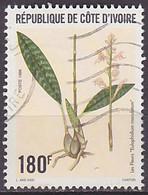 Timbre Oblitéré N° 967(Yvert) Côte D'Ivoire 1996 - Fleurs Et Flore - Costa D'Avorio (1960-...)
