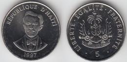 HAITI - 5 CENTIMES 1997 - Haïti