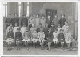 Blanzy (71) Photo De Classe 1936 - Fotografía
