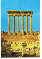 CPA. Liban.Temple De Baalbeck.     Pub Au Dos. (AA2.14) - Libanon