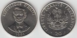 HAITI - 20 CENTIMES 1991 - Haïti