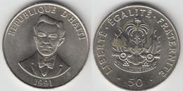 HAITI - 50 CENTIMES 1991 - Haïti