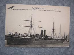 PAQUEBOT - OCEANIEN - Dampfer