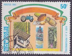 Timbre Oblitéré N° 601(Yvert) Côte D'Ivoire 1981 - Anniversaire De L'Indépendance - Costa D'Avorio (1960-...)