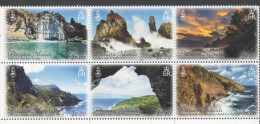 PITCAIRN ISLAND ,2016, MNH ,PITCAIRN LANDSCAPES, MOUNTAINS, TREES, CLIFFS, COASTS, 6v - Isole