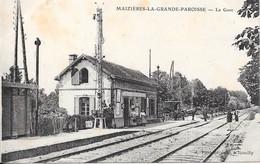 MAIZIERES-LA-GRANDE-PAROISSE - La Gare - Otros Municipios