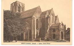 Cpa Cassel - Eglise Notre - Dame . - Cassel