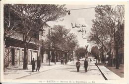 1941 - BATNA - Avenue De La République - Batna