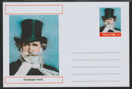 40715 Palatine (Fantasy) Personalities - Giuseppe Verdi (Composer) - Cartoline