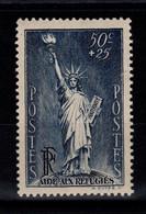 YV 352 N* (trace) Statue De La Liberte Cote 4 Euros - Unused Stamps