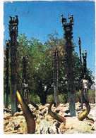 CPA.  Madagascar Tombeaux Mahafaly.Pub Au Dos. (AA2.29) - Madagascar