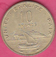 DJIBOUTI 10 Francs 1977 - Gibuti
