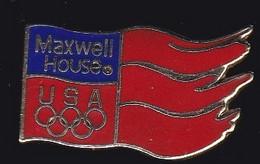67030-Pin's.Maxwell House. Café .Kraft Foods Group En Amérique Du Nord.Jeux Olympiques. - Boissons