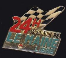 67031-Pin's.24 Heures Du Mans.Le Maine Libre.Presse.Journal.Rallye. - Medien