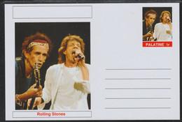40760 Palatine (Fantasy) Personalities - Rolling Stones - Cartoline