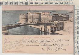 TARANTO CASTELLO E MARE GRANDE 1902 - Taranto