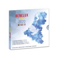 Benelux  2020   (3 X De 8 Munten)  Belgie - Nederland En Luxemburg In De Benelux Set Met Motief Vrede En Vrijheid !! - Belgio