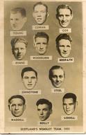 SPORT FOOTBALL SOCCER SCOTLAND  TEAM  AT WEMBLEY 1951   RP - Voetbal
