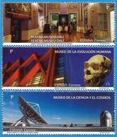 España. Spain. 2020. Museos De Dali, De La Ciencia Y El Cosmos De Tenerife Y De La Evolucion Humana - 2011-... Nuovi & Linguelle