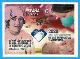España. Spain. 2020. Sanidad. Año Internacional De Enfermeras Y Matronas - 2011-... Nuovi & Linguelle