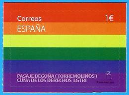 España. Spain. 2020. Día Internacional Del Orgullo LGTBI. Pasaje Begoña - 2011-... Nuovi & Linguelle