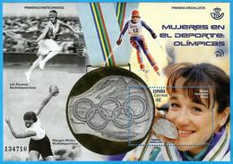 España. Spain. 2020. HB. Mujeres En El Deporte. Olímpicas. Blanca Fdez. Ochoa - 2011-... Nuovi & Linguelle