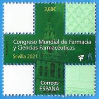 España. Spain. 2020. Efemérides. Congreso Mundial De Farmacia. Sevilla 2021 - 2011-... Nuovi & Linguelle