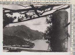 SALERNO PANORAMA DELLA COSTA AMALFITANA DA RAVELLO 1953 - Salerno