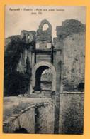 Agropoli - Castello - Porta Con Ponte Levatoio - Salerno