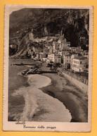 Amalfi - Panorama Dalla Spiaggia - Salerno