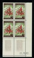 ALGERIE  Bloc De 4 Coin Daté 25.10.65  ** MNH  Gomme Intacte TTB - Algeria (1962-...)