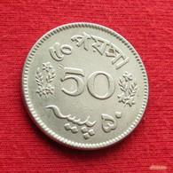 Pakistan 50 Paisa 1966 KM# 23  Paquistao - Pakistan