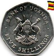 OUGANDA 5  SHILLINGS 1987 - Uganda