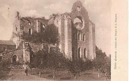 Italy & Circulated,  Dintorni Di Siena- Veduta Del Tempio Di S. Galgano 1928 (548) - Italia