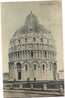 Italy & Circulated, Pisa Battistero, Dublin Ireland 1921 (4224) - Pisa