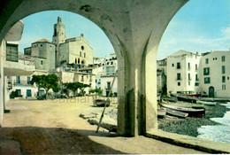 Cadaques , Años 50, Años 60,  Costa Brava , Mediterráneo, Barcas, Vintage Casas, Niños 1961 - Gerona